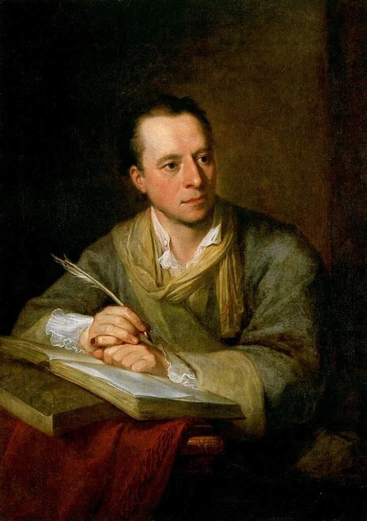 Portrait of Johann Joachim Winckelmann 1764