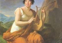 Portrait of Madame de Stael as Corinne 1808
