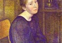 Portrait of Mme Lemmen 1893