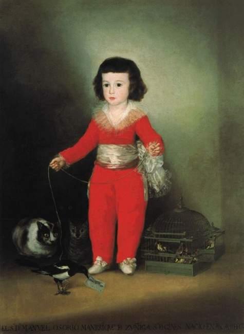 Портрет Дона Мануэля Осорио и Сунига. Около 1792