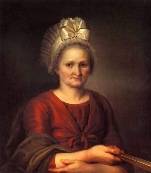 """""""Портрет матери, А. Л. Венециановой"""" 1802"""