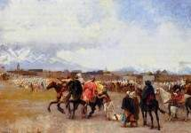 Powder Play City of Morocco, outside the Walls 1882