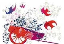 Red Wagon & Foliage