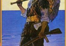 Robinson Crusoe illustration 1920