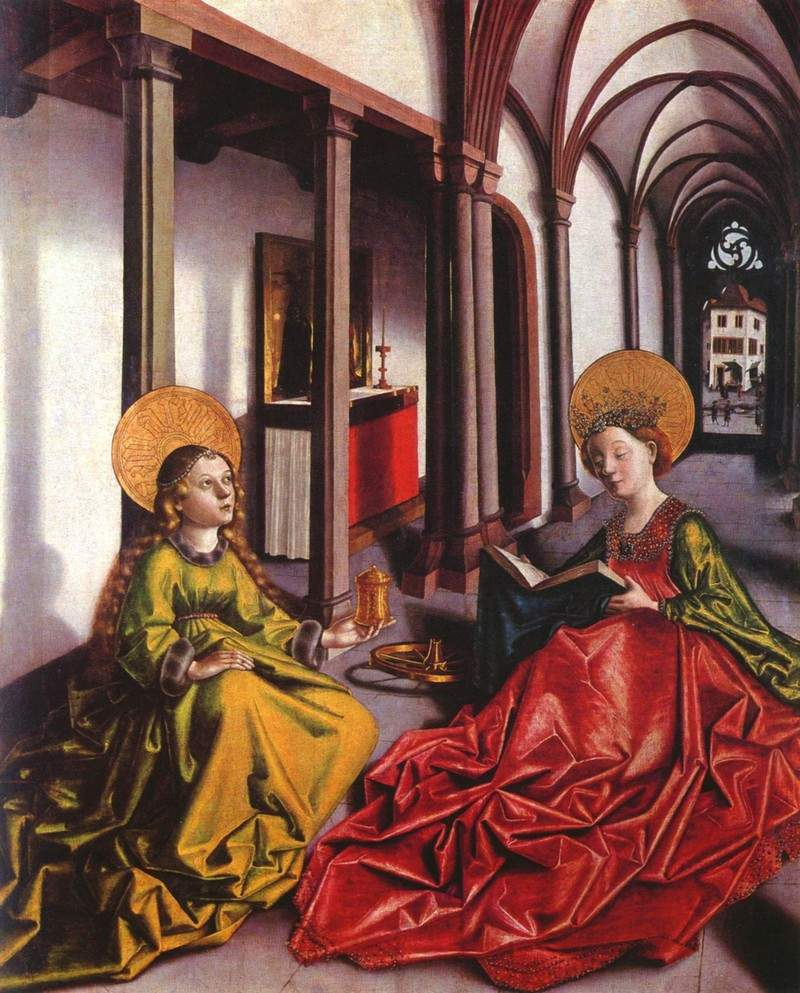 St. Catherine and Mary Magdalene