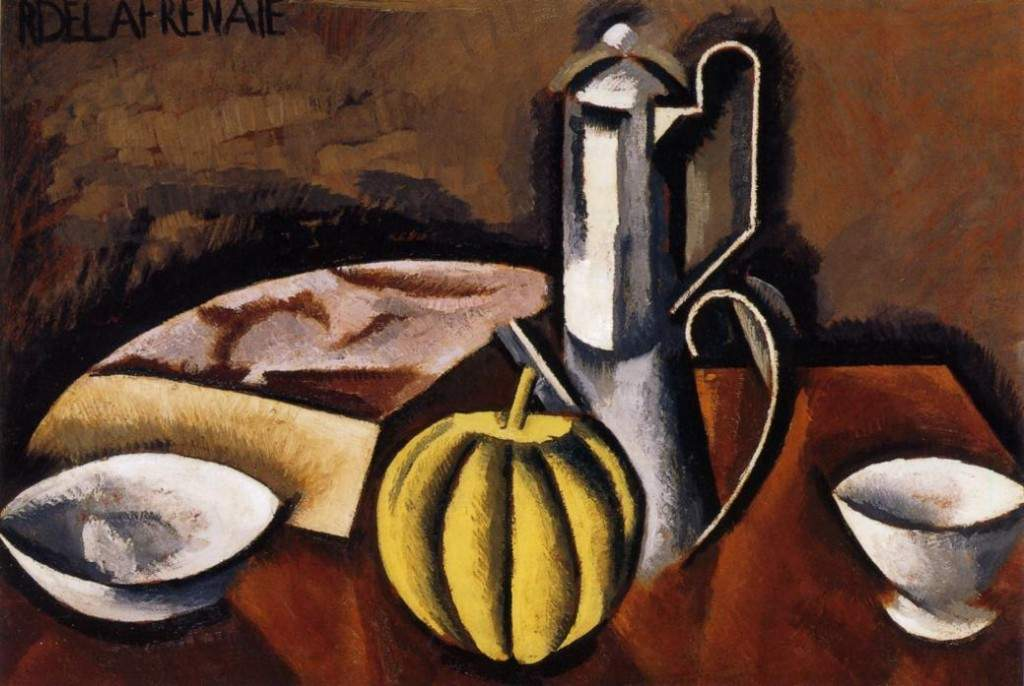 Still Life with Coffee Pot and Melon 1911