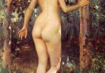 Study Of A Nude Woman 1892