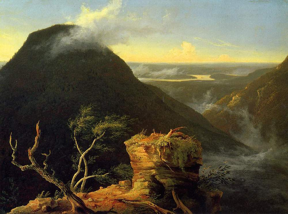 Sunny Morning on the Hudson River 1827