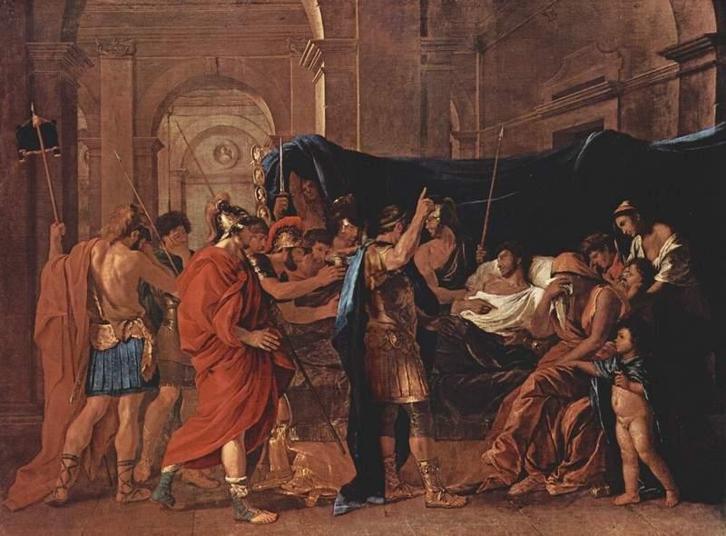Смерть Германика 1627