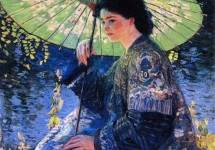 The Green Parasol 1911