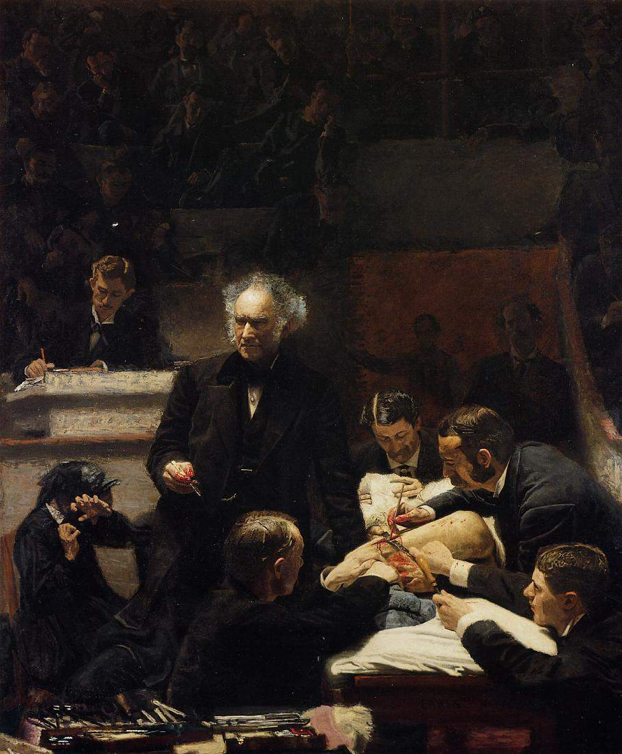 The Gross Clinic 1875