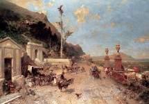 The Monreale Road, Palermo 1884