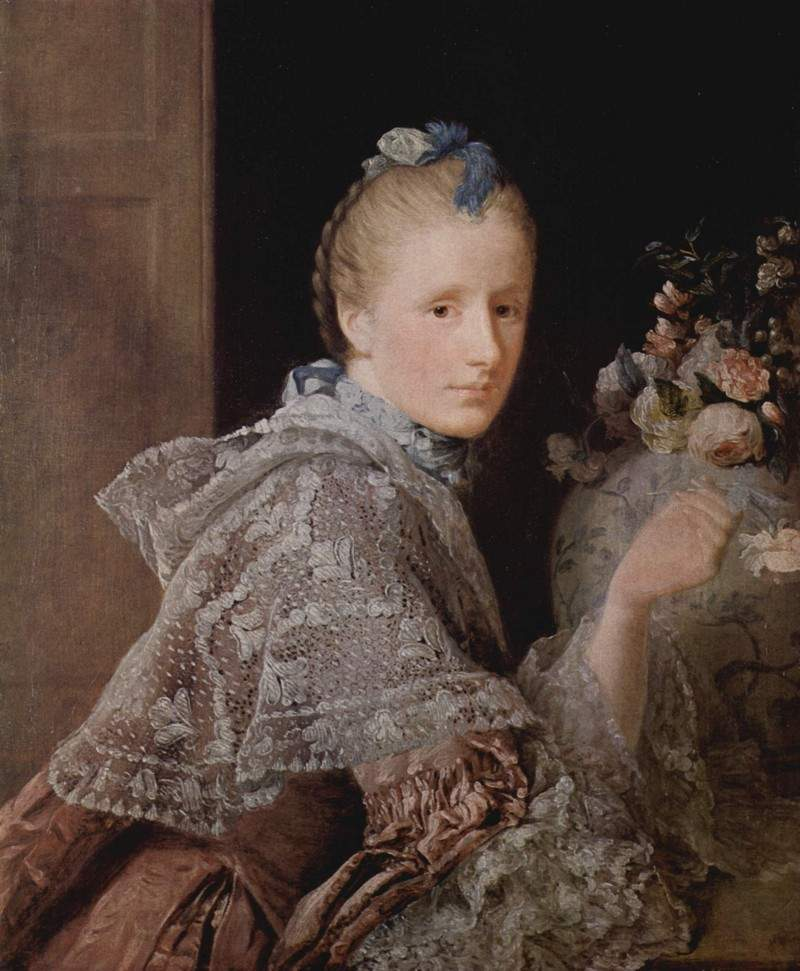 The painter's wife, Margaret Lindsay 1755