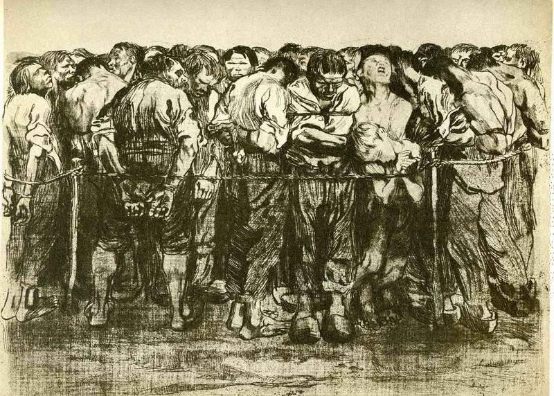 The prisoners 1908