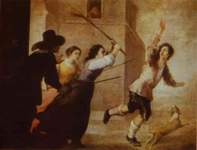 The Prodigal Son Driven Out 1660