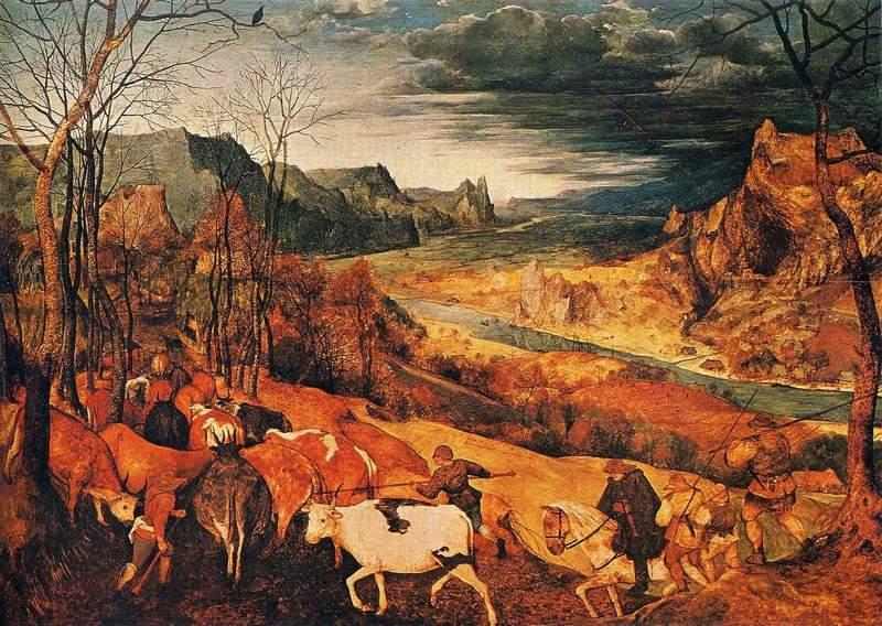 Возвращение стада (Осень) 1565