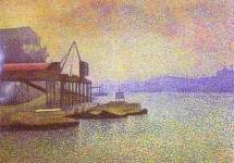 View of the Thames 1892