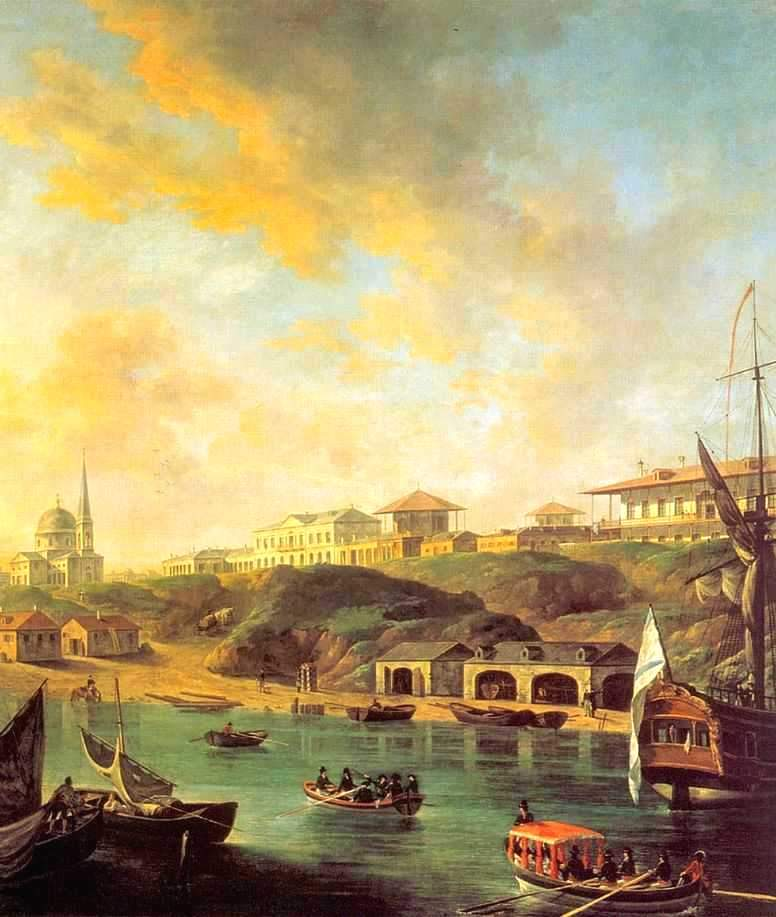 «Вид города Николаева» 1799