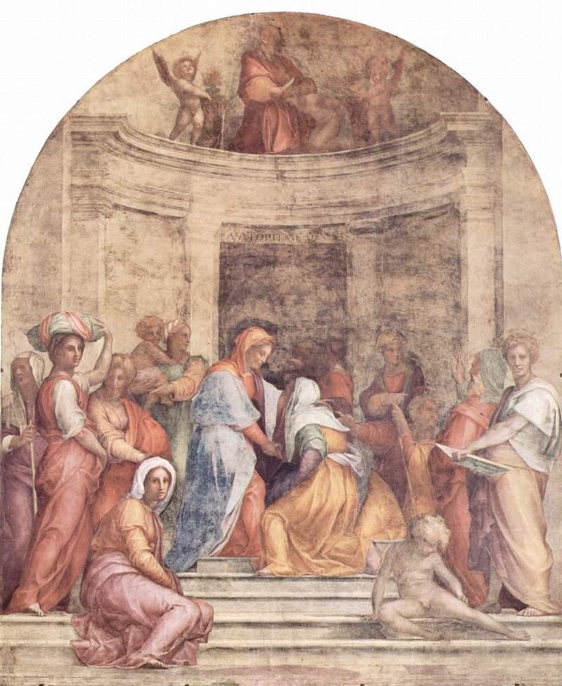 «Встреча Марии и Елизаветы» 1515