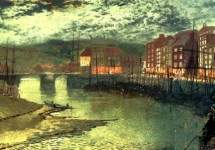 Whitby Docks 1876