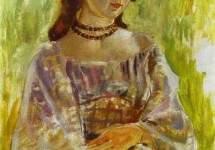 Девушка с ожерельем 1904