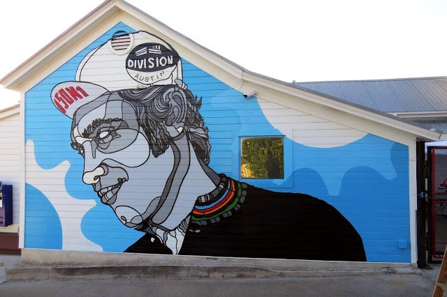 David Flores New Mural In Austin, USA