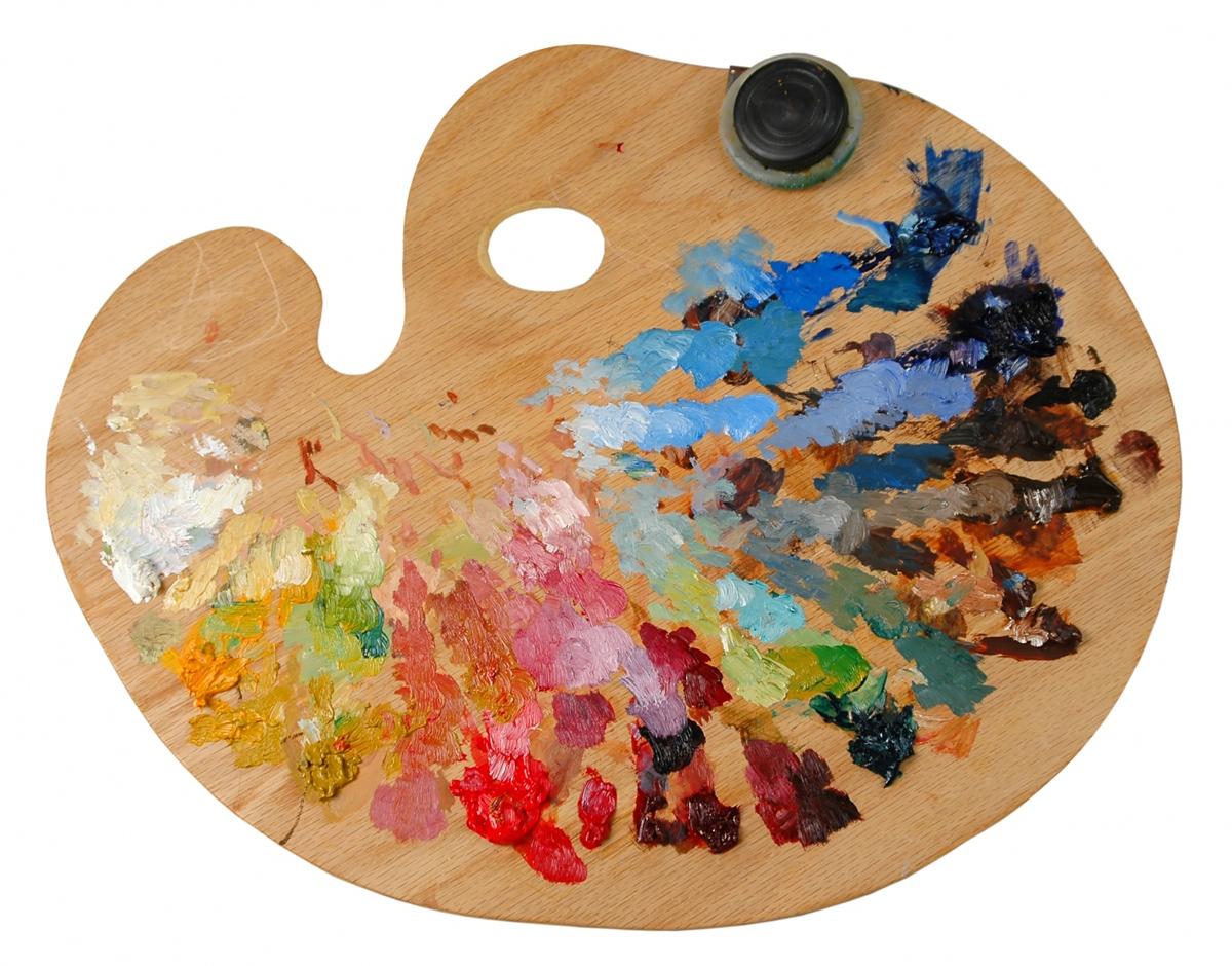 Масляные краски палитра