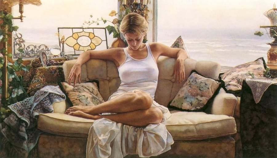 Steve-Hanks-Watercolor-Paintings-Art