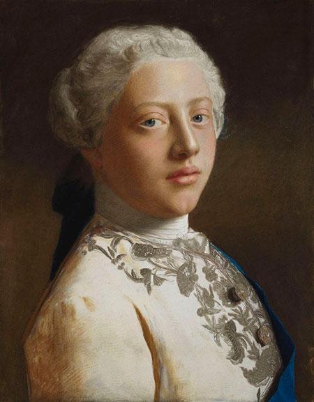 Жан-Этьенн Лиотар. Портрет Георга, Принца Уэльского (позже - Георга III)