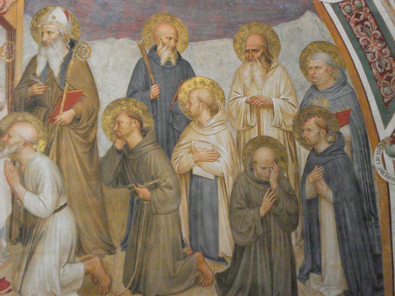 Распятие с предстоящими и святым Франциском Ассизским