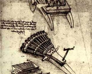 Multi Barrel Gun — Леонардо да Винчи