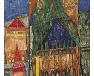 104 Cathedral I — Фриденсрайх Хундертвассер