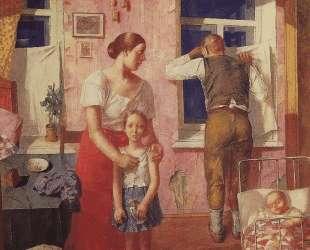 Тревога 1919 год — Кузьма Петров-Водкин