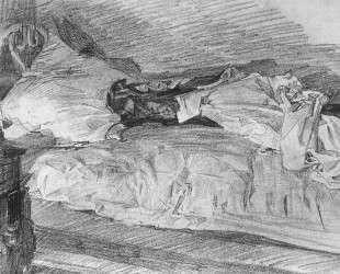 A bed — Михаил Врубель