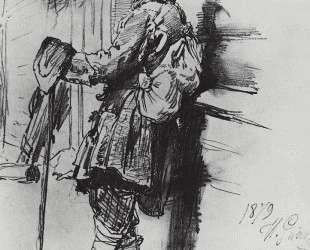 Нищий с сумой — Илья Репин