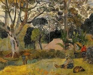 Большое дерево — Поль Гоген