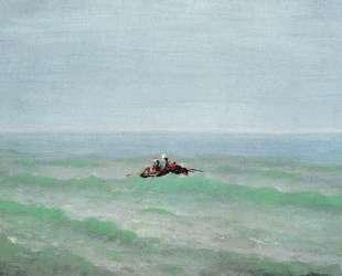 Лодка в море. Крым — Архип Куинджи