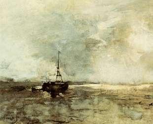 A Bomschuit On The Beach — Иохан Хендрик Вейсенбрух