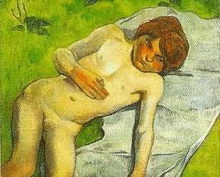 Бретонскй мальчик — Поль Гоген