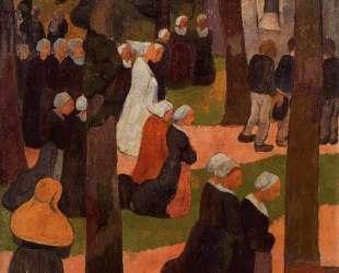 A Breton Sunday — Поль Серюзье