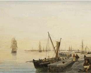 A busy harbour — Константинос Воланакис