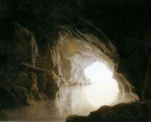 A Cavern, Evening — Джозеф Райт