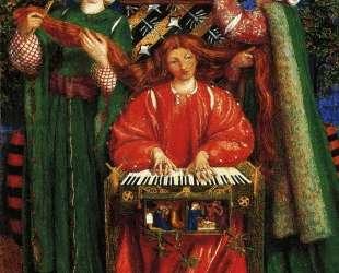 A Christmas Carol — Данте Габриэль Россетти