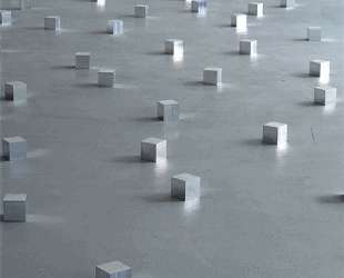 144 Aluminum Square — Карл Андре