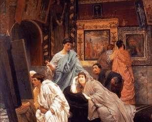Собрание картин во времена Октавиана Августа — Лоуренс Альма-Тадема
