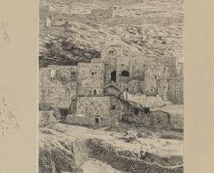 A Corner of the Village of Siloam — Джеймс Тиссо