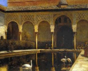 A Court in the Alhambra — Эдвин Лорд Уикс