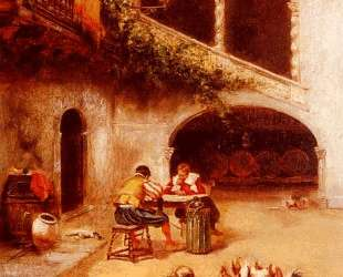 A Courtyard Scene — Жоан Миро