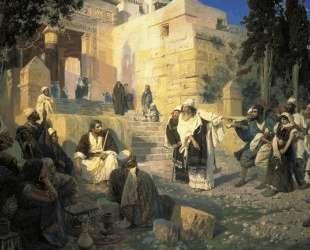 Христос и грешница — Василий Поленов