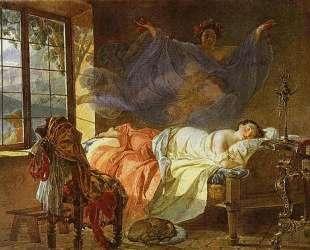 Сон молодой девушки перед рассветом — Карл Брюллов